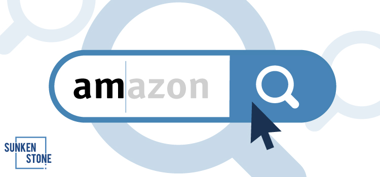 A search engine with the word amazon in it