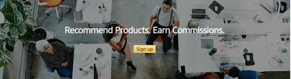 Affiliate Marketing via Amazon Associates Sunken Stone min